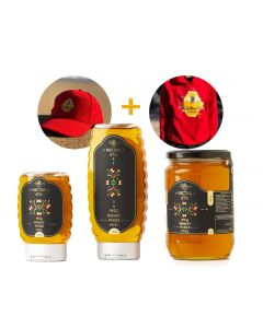 Nectar d'or Honey Pack + Hoodie + CAP